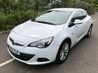 Vauxhall Astra SRi 1.4 16v Turbo 120PS S/S Good / Bad Credit Car Finance (white) 2013