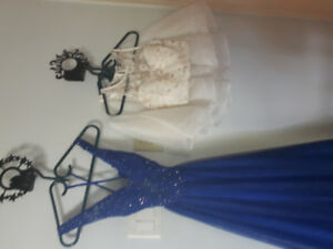 Beautiful dresses for sale.