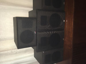 Surround sound 5 speakers and sub woofer all excellent condition