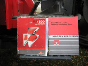 Massey Ferguson 1652, with DL130 Loader for sale