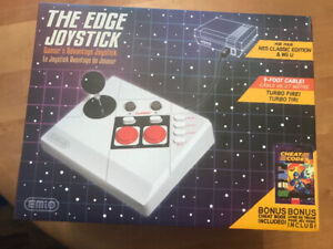The edge joystick for nes and WiiU
