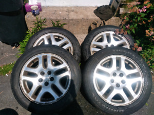 "16"" OEM Subaru rims on great summers"