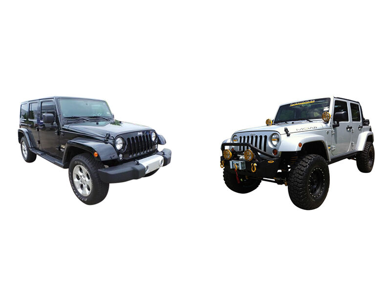 jeep wrangler sport vs jeep wrangler unlimited ebay. Black Bedroom Furniture Sets. Home Design Ideas