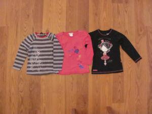 Lot de vêtements fille, 3 ans - 3½ ans, automne-hiver,
