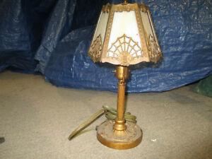 lampe ancienne style Tiffany circa 1930