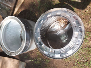 WASHER TUBS  FOR FIRE  PIT