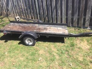 Motorcycle/ small boat trailer