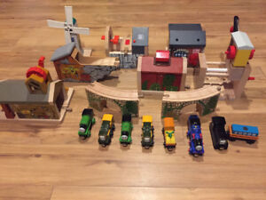 Thomas and Friends Wooden Track Set