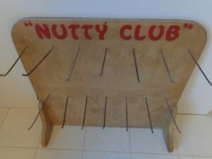 Old Wall Display Nutty Club