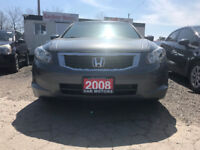 2008 Honda Accord LX Sedan/certified/6 Months free warranty Mississauga / Peel Region Toronto (GTA) Preview