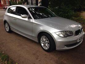 BMW 120 118d ES (aluminium/silver) 2008