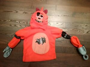Five Nights at Freddy's Deluxe Foxy Kids Costume - Almost NEW