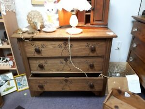 dresser ash antique