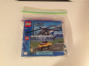 LEGO City Police 3658 Police Helicopter NO BOX