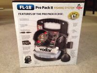 Brand new FL-18 flasher and fishing shack for trade