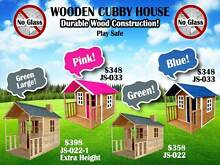 Cubby House Kids Childen Playhouse Outdoor Wooden Durable Safety Richlands Brisbane South West Preview