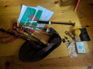 Bagpipes, Practice Chanter, & Accessories