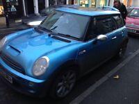 Mini Cooper s milltek pan roof xenons