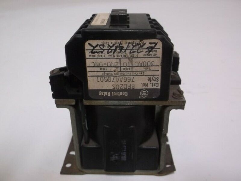 WESTINGHOUSE BFD20S RELAY * USED *