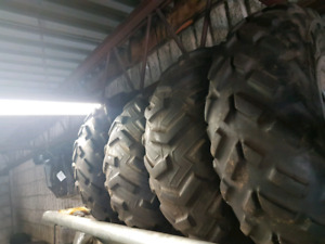 2005 grizzly rims and tires