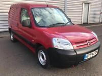 CITROEN BERLINGO LX 600 D ENTERPRISE PARTNER VAN Red Manual Diesel, 2004