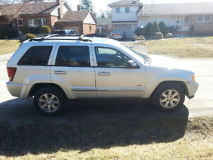 "2008 diesel grand Cherokee for sale ""as is"" 300000km 4x4 laredo"