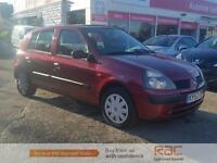 RENAULT CLIO EXPRESSION PLUS 16V, Red, Manual, Petrol, 2003