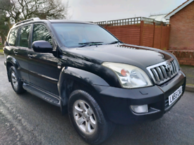 2005 TOYOTA LANDCRUISER LC3 D-4D 7-SEATER 6-SPEED MANUAL