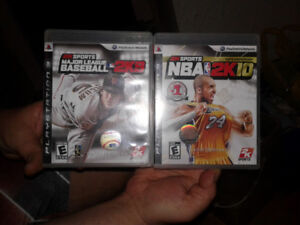 For sale PlayStation 3 games