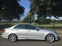 2011 11 MERCEDES-BENZ C CLASS 2.1 C220 CDI BLUEEFFICIENCY SPORT 5D 168 BHP DIESE