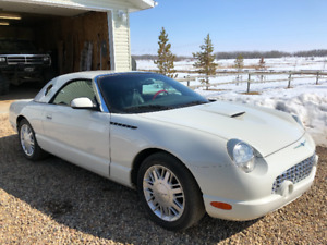 Ford Thunderbird Convertible 59,000 kms!