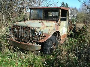 1953 Dodge 3/4 ton army truck