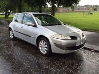 2006 RENAULT MEGANE 1.6 DYNAMIQUE WITH 1 YEARS MOT