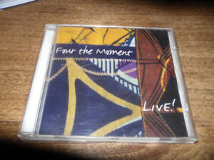 rare CD by local artist - Four The Moment