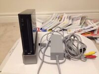 Used wii console and games