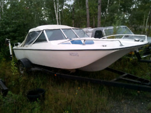 76 LeSabre boat and trailer