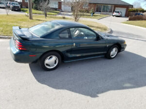 1994 FORD MUSTANG $2250... 25 YEARS OLD VINTAGE CAR