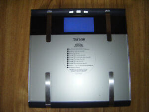 Taylor Body Analyzer Scale for sale..