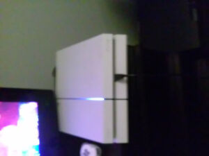 PlayStation 4 with games on system $250