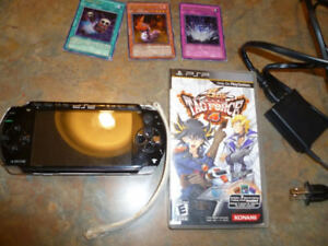 Sony PSP 1001 Portable handhold system Bundle Yu-GI-Ohi game and