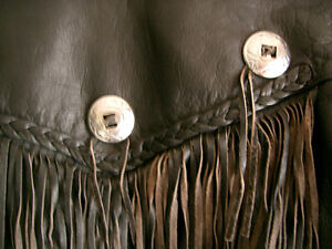 Classic fringed bikers jacket  recycledgear.ca Kawartha Lakes Peterborough Area image 10