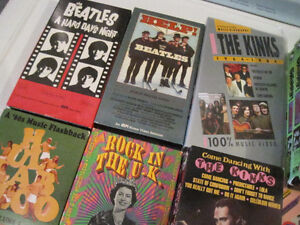 WOW PRICE - VHS Tapes in Best Condition - BEATLES, KINKS... Peterborough Peterborough Area image 1