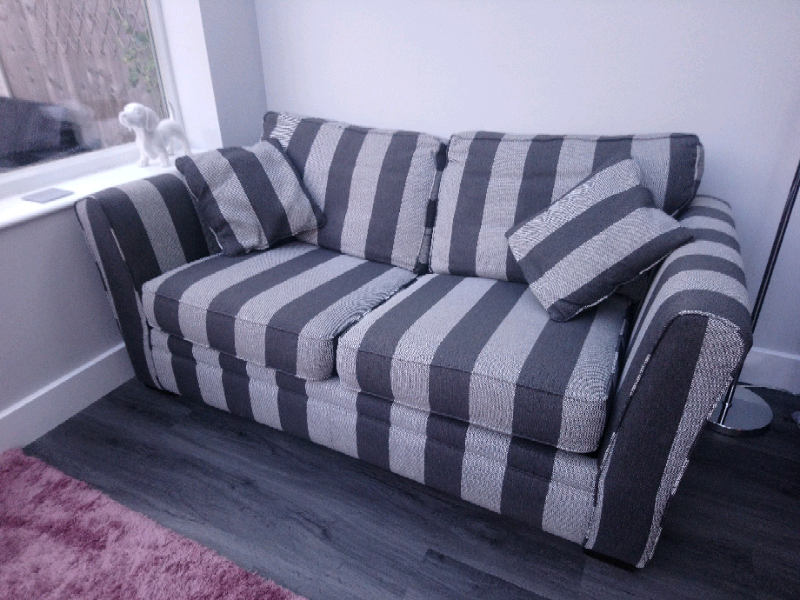 Sofa Bed 3 Seater And Snuggle Chair