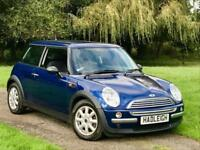 2003/53 1.6 MINI ONE BLUE A/C ONLY 35K MILES