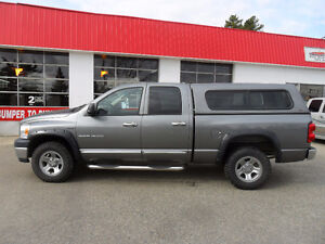 2007 Dodge Power Ram 1500 ST *4X4*CANOPY*CHROME PIPES*