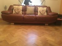 Tanned Leather Sofas