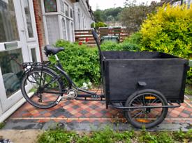 Cargo bike 6 speed
