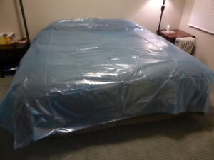 Plastic mattress & boxspring covers / bags