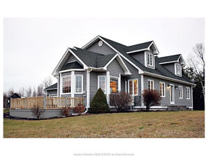 EXECUTIVE HOME ON 9 ACRES OF LAND - 98 GOGUEN ST BOUCTOUCHE NB