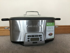 CUISINART MSC-800 Cook Central 4-in-1 Multi-Cooker, 7 quart, Sta
